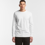 Men's Base Long Sleeve Cuff T Shirt by 'As Colour '